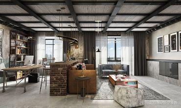豪华型140平米四工业风风格客厅效果图