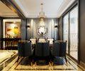 富裕型80平米三室两厅欧式风格餐厅图片大全