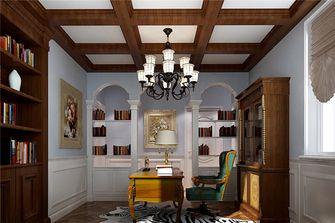 豪华型140平米别墅新古典风格书房图片