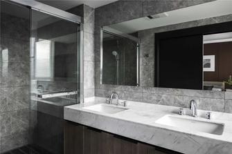 20万以上110平米三室两厅现代简约风格卫生间欣赏图