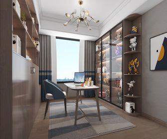 10-15万140平米四室两厅美式风格书房装修图片大全