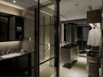豪华型140平米别墅现代简约风格衣帽间效果图