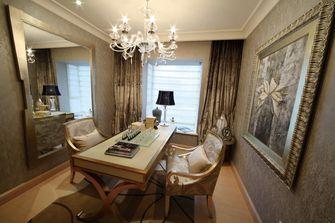 经济型130平米三室两厅欧式风格书房效果图