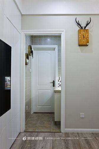 富裕型80平米三室一厅北欧风格走廊效果图