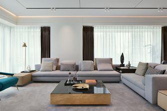 5-10万120平米三室两厅轻奢风格客厅设计图