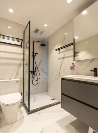 豪华型140平米三室一厅法式风格卫生间装修图片大全