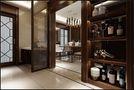 富裕型110平米三室一厅中式风格走廊图片