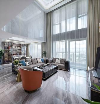 20万以上140平米三室三厅轻奢风格客厅图片