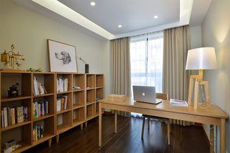 110平米三日式风格书房图