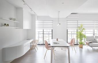 富裕型100平米三室三厅现代简约风格餐厅装修案例