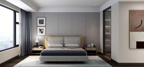 3万以下140平米复式现代简约风格卧室图