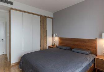 富裕型80平米三室一厅北欧风格卧室装修案例