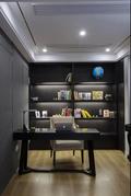 20万以上140平米轻奢风格书房装修案例