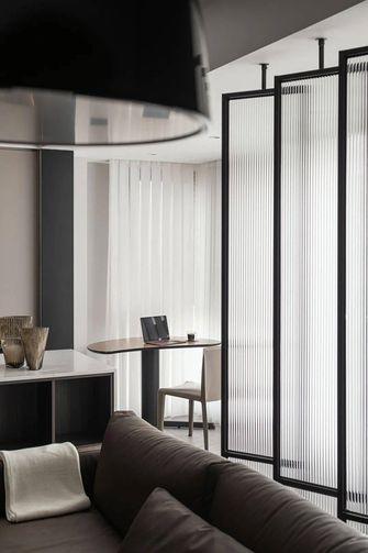 富裕型130平米三室两厅现代简约风格阳台图片大全