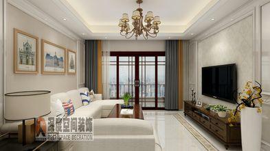 5-10万110平米四室两厅欧式风格客厅效果图