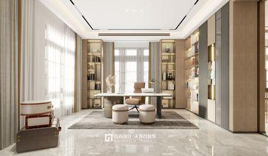 140平米别墅现代简约风格书房图片