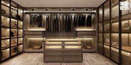 140平米复式中式风格衣帽间欣赏图
