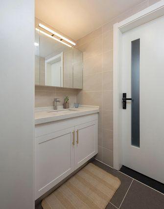 3万以下80平米三室两厅混搭风格卫生间效果图