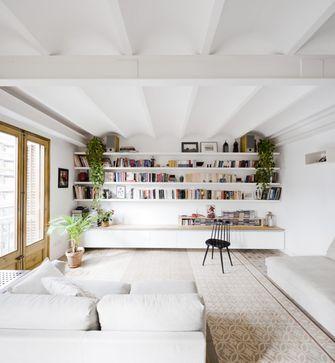 经济型30平米小户型北欧风格书房装修案例
