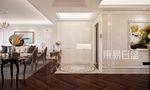 20万以上140平米三室两厅美式风格玄关欣赏图