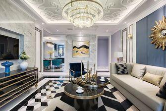 120平米三室两厅欧式风格客厅设计图