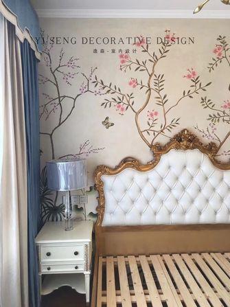 富裕型140平米三室两厅美式风格卧室欣赏图