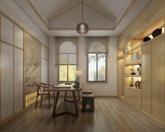 140平米四日式风格书房设计图