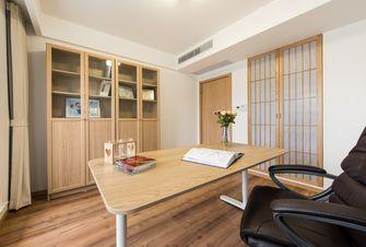 富裕型130平米三室两厅日式风格书房装修效果图