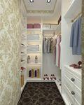 130平米三室两厅欧式风格衣帽间装修图片大全