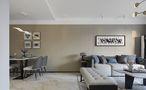 富裕型110平米三室两厅港式风格餐厅装修案例