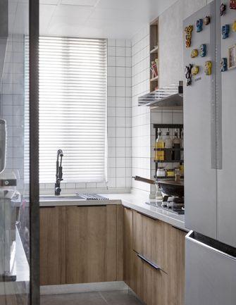 经济型130平米四室两厅现代简约风格厨房图