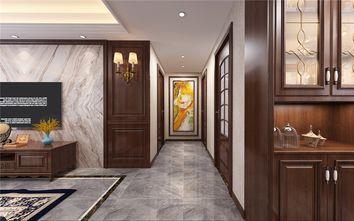 富裕型120平米三室两厅美式风格走廊装修图片大全