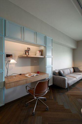 经济型一室两厅混搭风格书房装修案例
