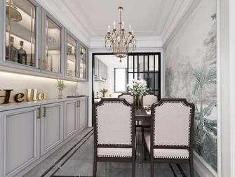 富裕型110平米三美式风格餐厅效果图