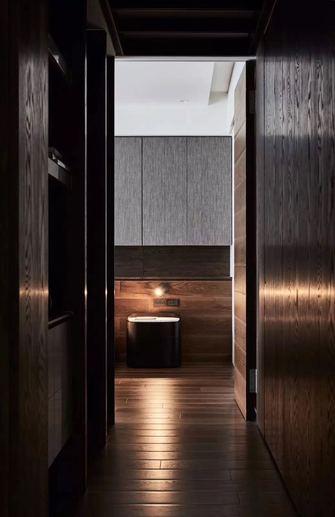 富裕型140平米三室两厅现代简约风格走廊装修图片大全