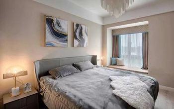 130平米三室一厅轻奢风格卧室欣赏图