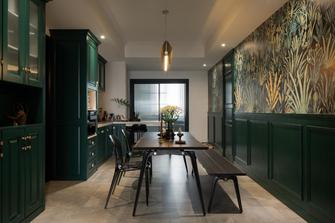富裕型110平米三室两厅新古典风格厨房装修效果图