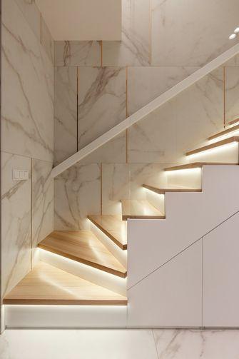 110平米公寓现代简约风格楼梯间装修效果图