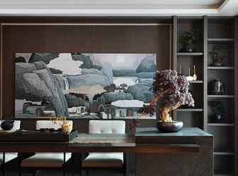 豪华型120平米三室两厅中式风格书房装修图片大全