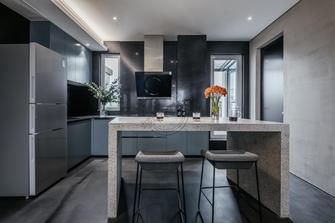 140平米复式轻奢风格厨房装修图片大全