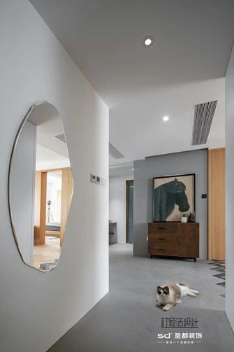 120平米三室两厅混搭风格玄关图