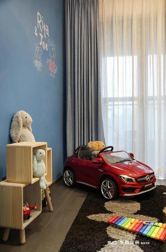 110平米三室两厅工业风风格其他区域设计图