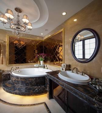豪华型140平米四室两厅新古典风格卫生间装修效果图