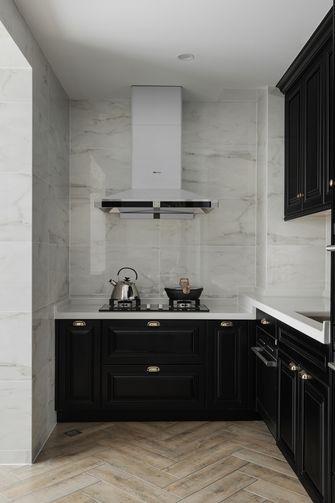 10-15万80平米美式风格厨房装修案例