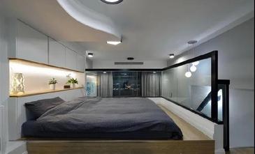 3-5万60平米公寓现代简约风格卧室欣赏图