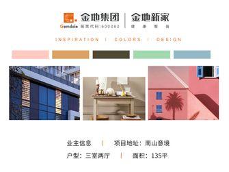 豪华型130平米三英伦风格客厅设计图