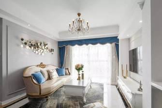 5-10万80平米美式风格客厅装修效果图