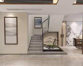 豪华型140平米复式中式风格楼梯间图片
