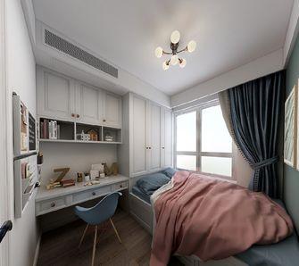 80平米三室一厅现代简约风格青少年房效果图