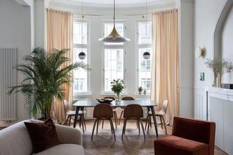 60平米公寓法式风格客厅图片